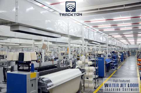 water jet loom monitoring system