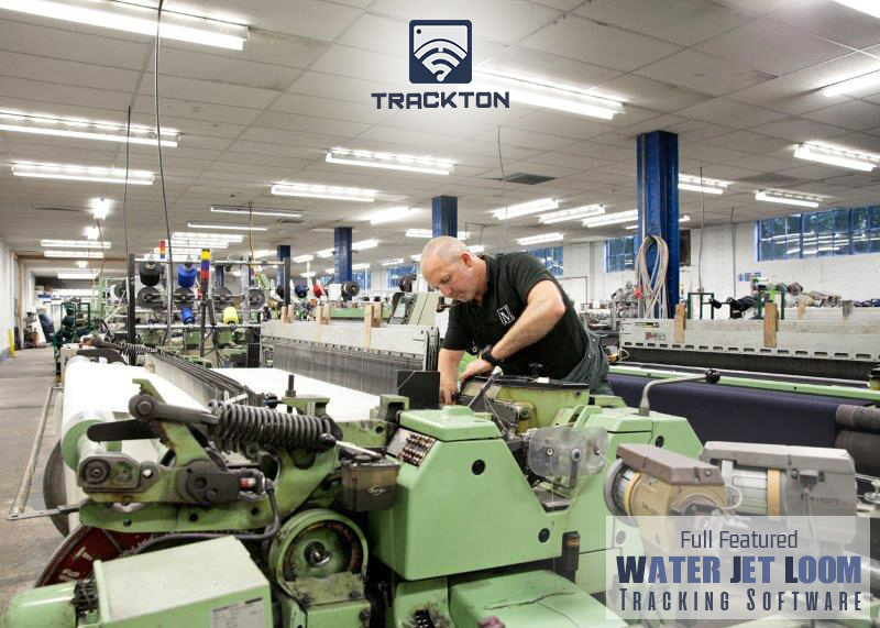 water jet loom data monitoring system